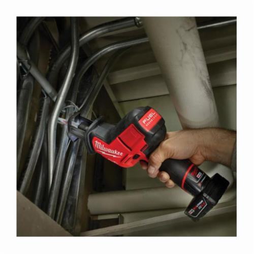 Milwaukee® M12™ FUEL™ 2520-20 Cordless Reciprocating Saw, 5/8 in L Stroke, 3000 spm, Straight Cut, 12 VDC, 11 in OAL