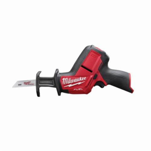 Milwaukee® 2520-20 M12™ FUEL™ Cordless Reciprocating Saw, 5/8 in L Stroke, 3000 spm, Straight Cutting, 12 VDC, 11 in OAL