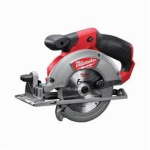 Milwaukee® 2530-20 M12™ FUEL™ Cordless Circular Saw, 5-3/8 in, 5-1/2 in Blade, 10 mm Arbor/Shank, 12 VDC, Lithium-Ion Battery