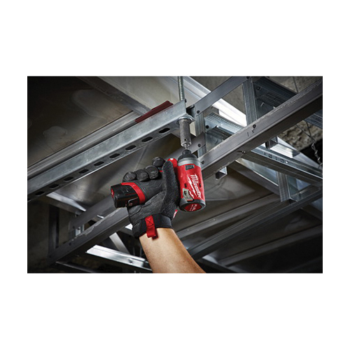 Milwaukee® M12™ FUEL™ 2553-20 Cordless Impact Driver, 1/4 in Hex Drive, 4000 bpm, 1300 in-lb Torque, 12 VAC, 5.1 in OAL