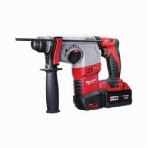 Milwaukee® 2605-22 M18™ Cordless Rotary Hammer Kit, 7/8 in Keyless/SDS Plus® Chuck, 18 VDC, 0 to 1400 rpm No-Load, Lithium-Ion Battery