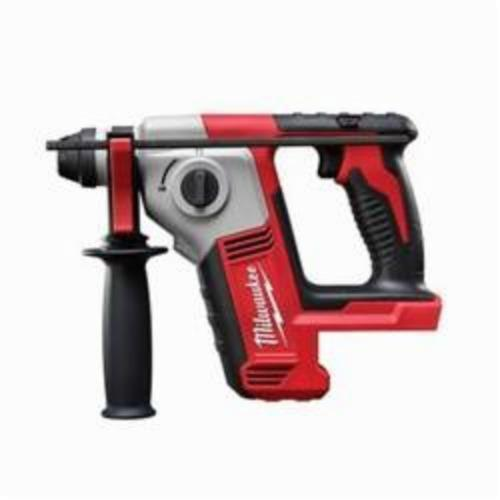 Milwaukee® 2612-20 M18™ Cordless Rotary Hammer, 5/8 in Keyless/SDS Plus® Chuck, 18 VDC, 1300 rpm No-Load, Lithium-Ion Battery