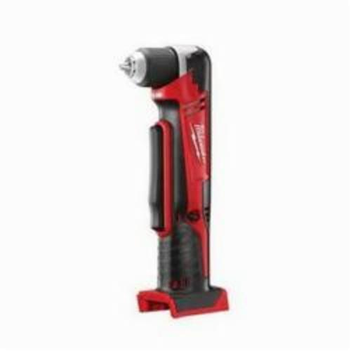 Milwaukee® 2615-20 M18™ Cordless Right Angle Drill, 3/8 in Keyless/Single Sleeve Chuck, 18 VDC, 125 in-lb, 0 to 1500 rpm No-Load, 11 in OAL, Lithium-Ion Battery