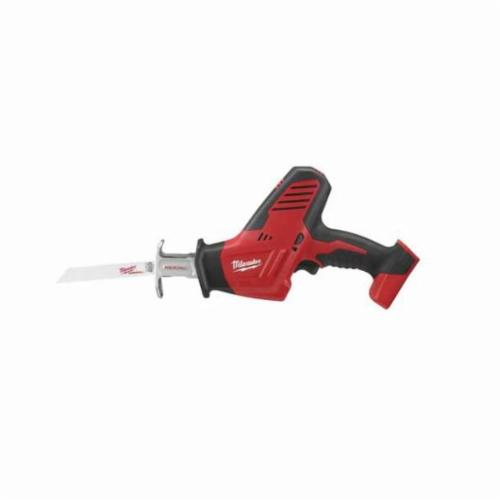 Milwaukee® 2625-20 M18™ 1-Handed Anti-Vibration Cordless Reciprocating Saw, 3/4 in L Stroke, 3000 spm, Straight Cutting, 18 VDC, 13 in OAL