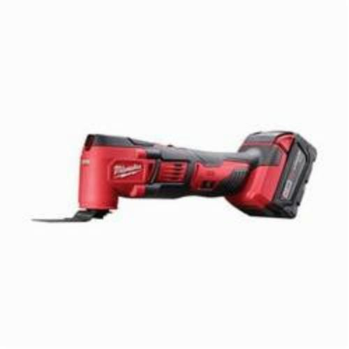 Milwaukee® M18™ 2626-22 Cordless Oscillating Multi-Tool Kit, 11000 to 18000 opm Speed, 18 VDC, Lithium-Ion Battery, 2 Batteries