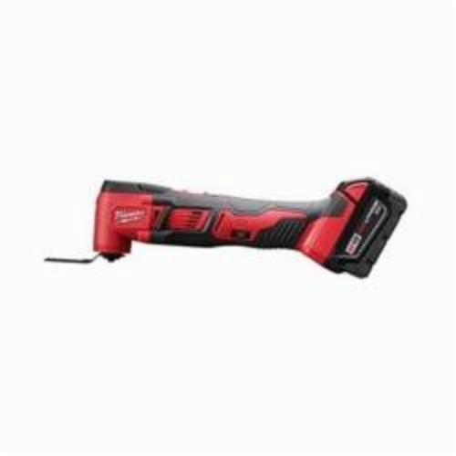 Milwaukee® 2626-22 M18™ Cordless Oscillating Multi-Tool Kit, 11000 to 18000 opm, 18 VDC, Lithium-Ion Battery, 2 Batteries