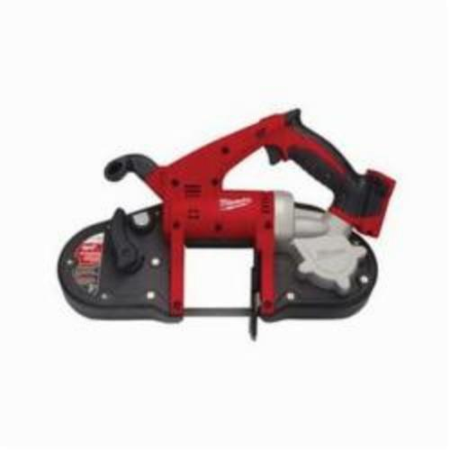 Milwaukee® 2629-20 M18™ Cordless Band Saw, 3-1/4 in Cutting, 35.375 in L x 0.5 in W x 0.02 in THK Blade, 18 VDC, 4 Ah Lithium-Ion Battery