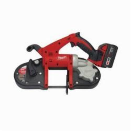Milwaukee® 2629-22 M18™ REDLITHIUM™ Cordless Band Saw Kit, 3-1/4 in Cutting, 35.375 in L x 0.5 in W x 0.02 in THK Blade, 18 VDC, 3 Ah Lithium-Ion Battery