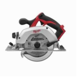 Milwaukee® 2630-20 M18™ Cordless Circular Saw, 6-1/2 in Blade, 5/8 in Arbor/Shank, 18 VDC, 1-5/8 in 45 deg, 2-1/8 in at 90 deg D Cutting, Lithium-Ion Battery, Left Blade Side, Bare Tool
