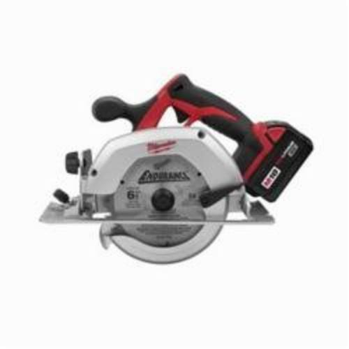 Milwaukee® 2630-22 M18™ Cordless Circular Saw Kit, 6-1/2 in Blade, 5/8 in Arbor/Shank, 18 VDC, REDLITHIUM™ XC™ Lithium-Ion Battery