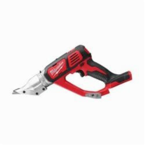 Milwaukee® 2635-20 M18™ Double Cut Cordless Shear, 20 ga Stainless Steel, 18 ga Steel Cutting, 2300 spm, 15.2 in OAL, Lithium-Ion Battery