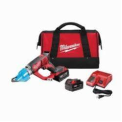 Milwaukee® M18™ 2636-22 Double Cut Cordless Shear Kit, 14 ga Steel, 16 ga Stainless Steel Cutting, 2300 spm, 15.2 in OAL, Lithium-Ion Battery