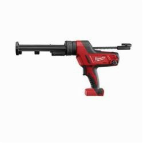 Milwaukee® 2641-20 M18™ Cordless Caulk Gun, 10 oz, 950 lb, 18 VDC, Lithium-Ion Battery, Metal Housing