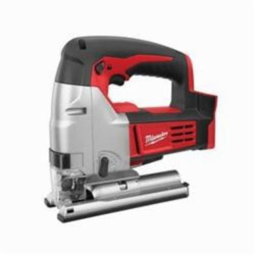Milwaukee® 2645-20 M18™ Cordless Jig Saw, 18 VDC, For Blade Shank: T-Shank, 10-1/2 in OAL, Lithium-Ion Battery