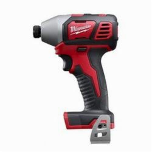 Milwaukee® 2656-20 M18™ Compact Cordless Impact Driver With Belt Clip, 1/4 in Hex/Straight Drive, 3450 bpm, 1500 in-lb, 18 VAC, 5-1/2 in OAL