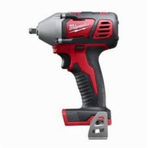 Milwaukee® 2658-20 M18™ Compact Cordless Impact Wrench With Friction Ring, 3/8 in Square Drive, 3350 bpm, 167 ft-lb, 18 VDC, 6 in OAL