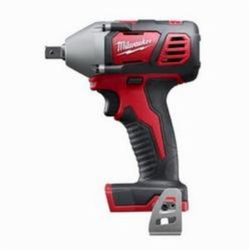 Milwaukee® 2659-20 M18™ Compact Cordless Impact Wrench With Pin Detent, 1/2 in Straight Drive, 3350 bpm, 183 ft-lb, 18 VDC, 6 in OAL