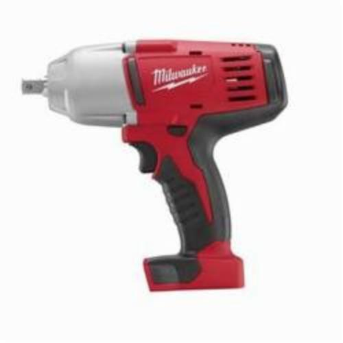 Milwaukee® 2662-20 M18™ Cordless Impact Wrench With Pin Detent, 1/2 in Straight Drive, 0 to 2200 bpm, 450 ft-lb, 18 VDC, 8-7/8 in OAL