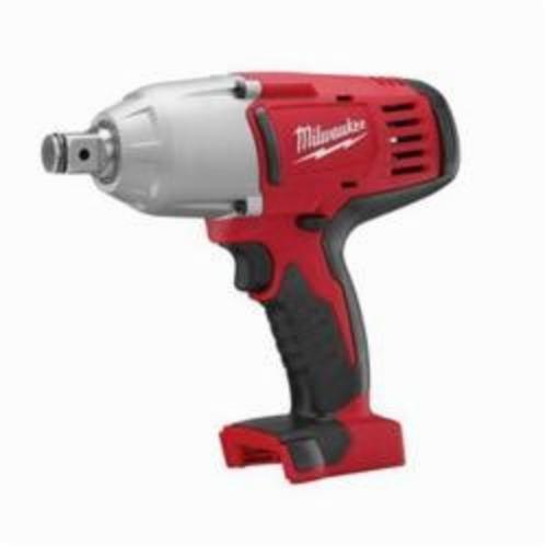Milwaukee® 2664-20 M18™ Cordless Impact Wrench With Friction Ring, 3/4 in Straight Drive, 0 to 2200 bpm, 525 ft-lb, 18 VDC, 9 in OAL