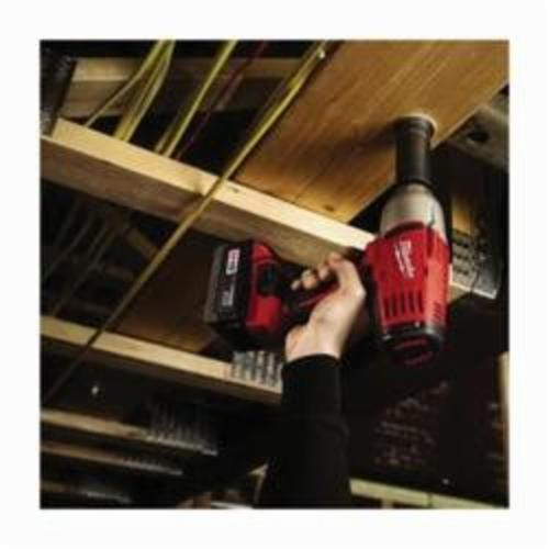 Milwaukee® M18™ 2664-22 High Torque Cordless Impact Wrench Kit With Friction Ring, 3/4 in Square Drive, 0 to 2200 bpm, 525 ft-lb Torque, 18 VDC, 9 in OAL