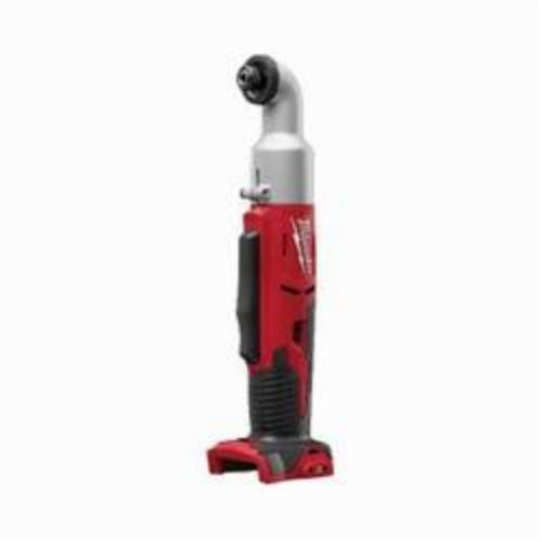 Milwaukee® 2667-20 M18™ 2-Speed Compact Right Angle Cordless Impact Driver, 1/4 in Hex/Right Angle Drive, 0 to 2400/0 to 3400 ipm, 675 in-lb, 18 VAC, 12-1/8 in OAL