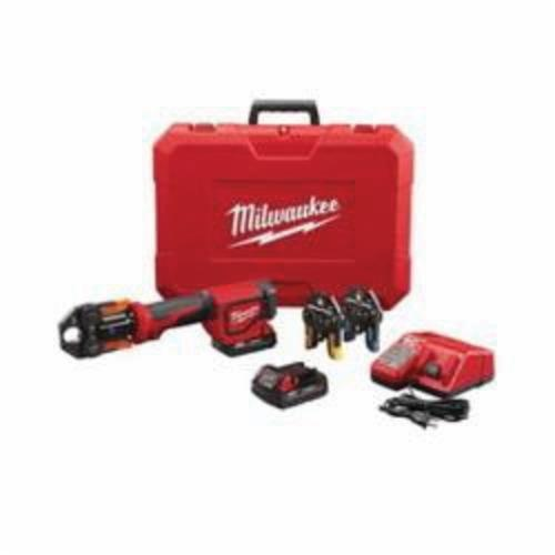 Milwaukee® M18™ 2674-22P Press Tool Kit With Viega PureFlow™ Jaws, Up to 1 in Crimping, 18 VDC, M18™ Redlithium™ Lithium-ion Battery, 13-1/2 in OAL