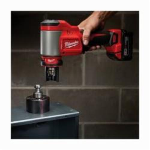 Milwaukee® M18™ 2676-22 FORCE LOGIC™ Knockout Tool Kit, 1/2 to 4 in Mild Steel/Stainless Steel Max Cutting, 13.63 in OAL