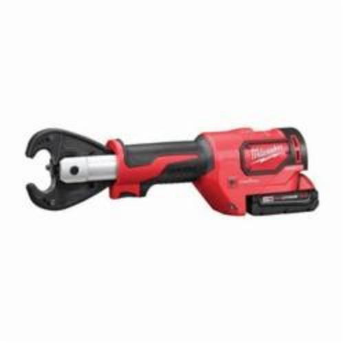Milwaukee® 2678-22 M18™ FORCE LOGIC™ Utility Crimping Kit With D3 Grooves Snub Nose, 6 ton Crimping, 18 VDC, Lithium-Ion Battery