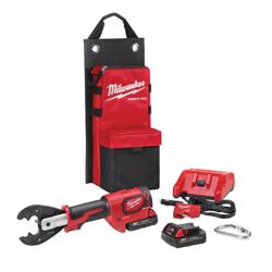 Milwaukee® 2678-BGKIT M18™ FORCELOGIC™ Utility Crimper Kit, 18 V, Lithium-Ion Battery, 14 in OAL