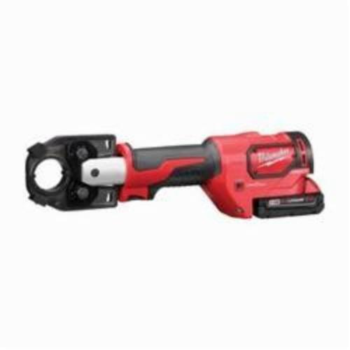 Milwaukee® 2679-22 M18™ FORCELOGIC™ Cordless Crimping Tool Kit, 6 ton Crimping, 18 VDC, Lithium-Ion Battery, 14 in OAL