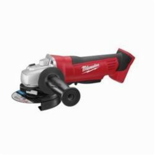 Milwaukee® 2680-20 M18™ Type 27 Cordless Grinder, 4-1/2 in Dia Wheel, 5/8-11 Arbor/Shank, 18 VDC, Lithium-Ion Battery, Paddle Switch