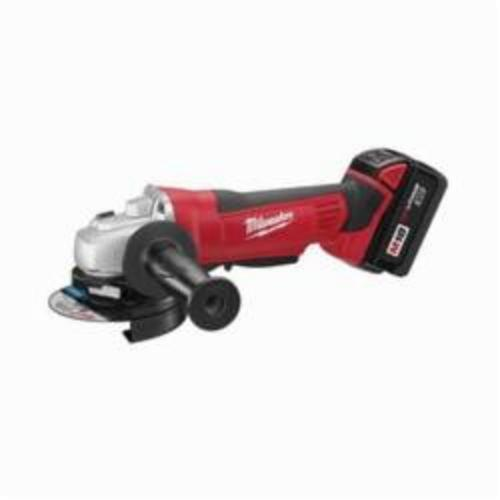 Milwaukee® 2680-22 M18™ Type 27 Cordless Cut-Off Grinder Kit, 4-1/2 in Dia Wheel, 18 VDC, Lithium-Ion Battery, 2 Batteries, Paddle Switch
