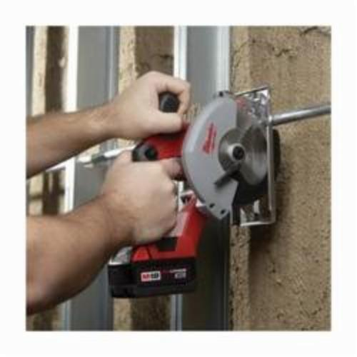 Milwaukee® 2682-22 M18™ Cordless Circular Saw Kit, 5-3/8 in Blade, 20 mm Arbor/Shank, 18 VDC, M12™ REDLITHIUM™ XC™ Lithium-Ion Battery