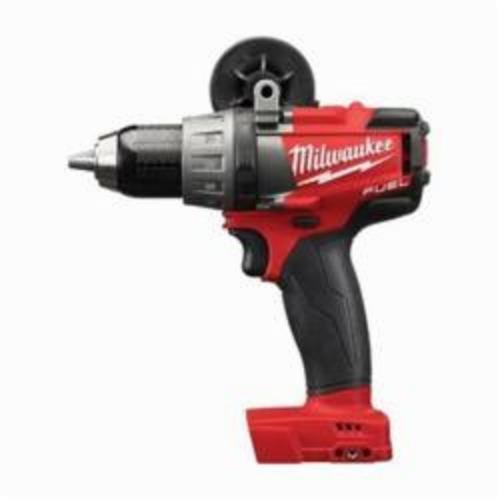 Milwaukee® 2703-20 M18™ FUEL™ Cordless Drill/Driver, 1/2 in Chuck, 18 VDC, 0 to 550/0 to 2000 rpm No-Load, 7-1/2 in OAL, Lithium-Ion Battery
