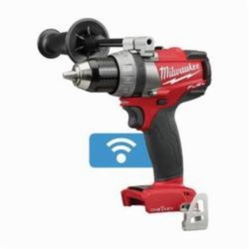 Milwaukee® 2705-20 M18™ FUEL™ Cordless Drill/Driver, 1/2 in Chuck, 18 VDC, 0 to 550/0 to 2000 rpm No-Load, 7.2 in OAL, Lithium-Ion Battery, Tool Only