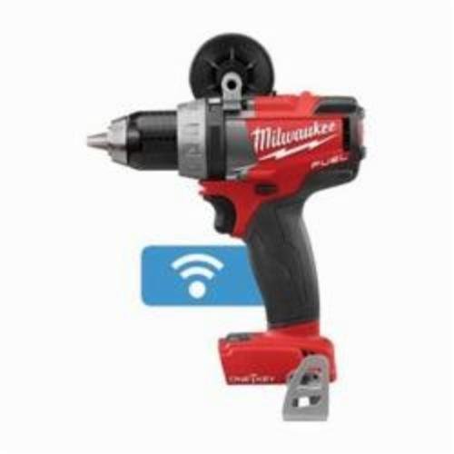 Milwaukee® 2705-20 M18™ FUEL™ Cordless Drill/Driver, 1/2 in Chuck, 18 VDC, 0 to 550 rpm, 0 to 2000 rpm No-Load, 7.2 in OAL, Lithium-Ion Battery
