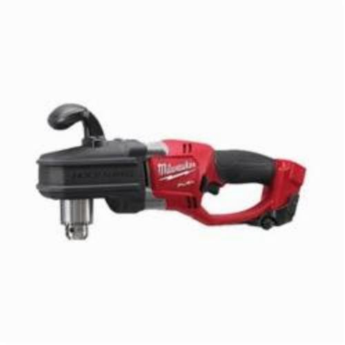 Milwaukee® 2707-20 M18™ FUEL™ HOLE HAWG® Cordless Right Angle Drill, 1/2 in Keyed Chuck, 18 VDC, 650 ft-lb, 0 to 1200 rpm No-Load, 17 in OAL, Lithium-Ion Battery