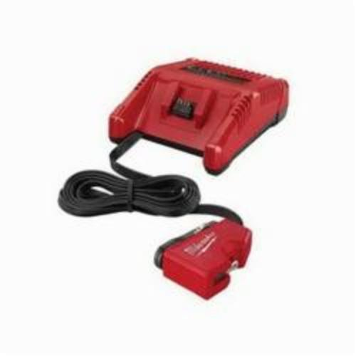 Milwaukee® 2710-20 M18™ AC/DC AC Wall and DC Vehicle Charger, For Use With M12™ REDLITHIUM™ and M12™ Lithium-Ion Battery, Lithium-Ion Battery, 30 min Charging Time, 1 Battery