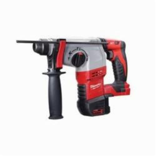 Milwaukee® 2605-20 M18™ Cordless Rotary Hammer, 7/8 in Keyless/SDS Plus® Chuck, 18 VDC, 1400 rpm No-Load, Lithium-Ion Battery