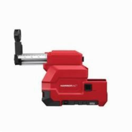 Milwaukee® 2712-DE M18™ FUEL™ HAMMERVAC™ Dedicated Dust Extractor, For Use With 2712-22 1 in SDS Plus® Rotary Hammer, 12 V Voltage, Lithium-Ion Battery, Metal/Plastic