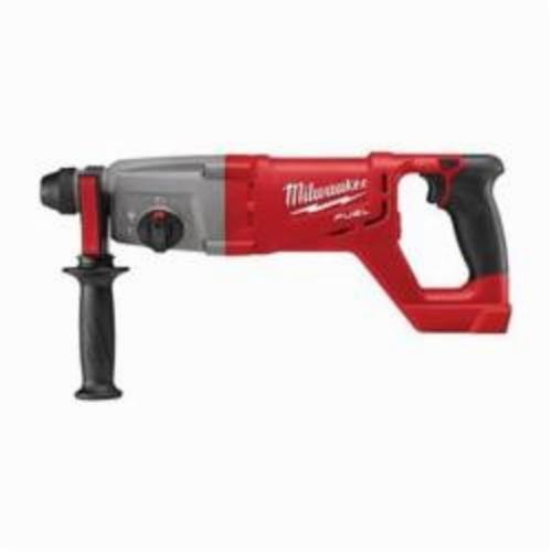 Milwaukee® 2713-20 M18™ FUEL™ Cordless Rotary Hammer, 1 in SDS Plus® Chuck, 18 VAC, 0 to 1500 rpm No-Load, Lithium-Ion Battery