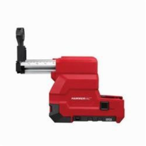 Milwaukee® M18™ FUEL™ 2715-DE HAMMERVAC™ Dedicated Dust Extractor, For Use With 2715-22 1-1/8 in SDS-Max® Rotary Hammers, 12 V Voltage, Lithium-Ion Battery, Metal/Plastic