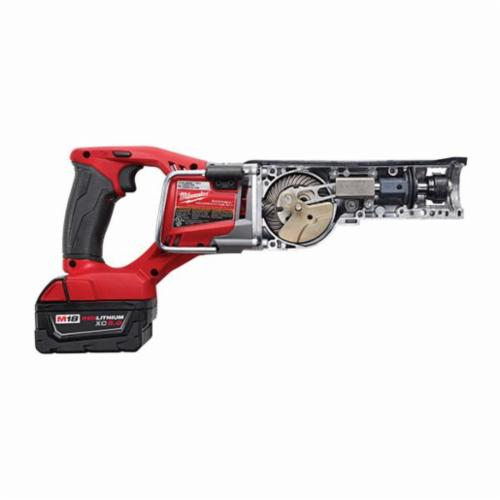 Milwaukee® 2720-22 M18™ FUEL™ Sawzall® Adjustable Shoe Cordless Reciprocating Saw Kit, 1-1/8 in L Stroke, 0 to 3000 spm, Straight Cutting, 18 VDC, 18-1/2 in OAL