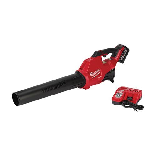 Milwaukee® 2724-21HD M18 FUEL™ Cordless Handheld Blower Kit, 450 cfm, 120 mph, 18 VAC 9 Ah Lithium-Ion Battery