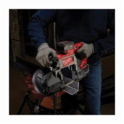 Milwaukee® M18™ FUEL™ 2729-20 Cordless Band Saw, 5 in Cutting, 44.875 in L x 0.5 in W x 0.02 in THK Blade, 18 VDC, 4 Ah Lithium-Ion Battery