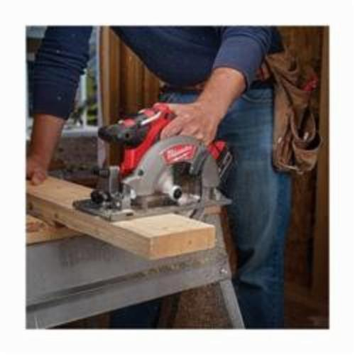 Milwaukee® 2730-22 M18™ FUEL™ Cordless Circular Saw Kit, 6-1/2 in Blade, 5/8 in Arbor/Shank, 18 VDC, Lithium-Ion Battery