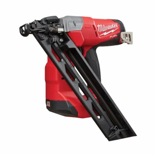 Milwaukee® 2743-20 M18™ FUEL™ Cordless Finish Nailer, 1-1/4 to 2-1/2 in Fastener, 110 Nails Magazine, 11-29/32 in OAL, Battery Power, Bare Tool