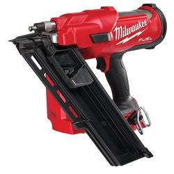 Milwaukee® M18 FUEL™ 2745-20 Brushless Cordless Framing Nailer, 2 to 3-1/2 in Fastener, For Fastener Type: 30 deg Framing Nailer, 51 lb Magazine, 14.1 in OAL, Battery