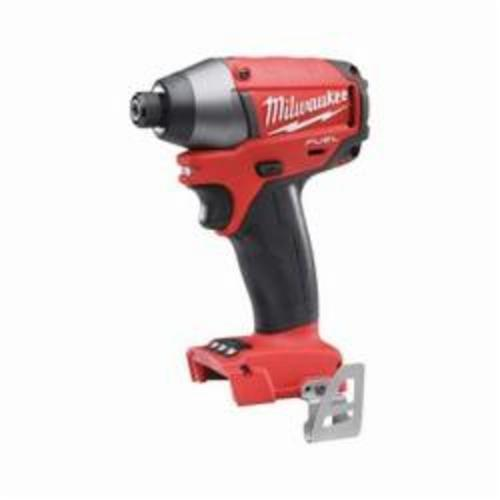Milwaukee® 2753-20 M18™ FUEL™ Cordless Impact Driver Kit, 1/4 in Hex Drive, 0 to 3700 bpm, 1800 in-lb Torque, 18 VAC, 5-1/4 in OAL