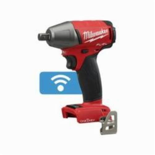 Milwaukee® 2759-20 M18 FUEL™ Compact Cordless Impact Wrench With Pin Detent, 1/2 in Straight Drive, 0 to 3200 ipm, 220 ft-lb, 18 VDC, 6-1/8 in OAL